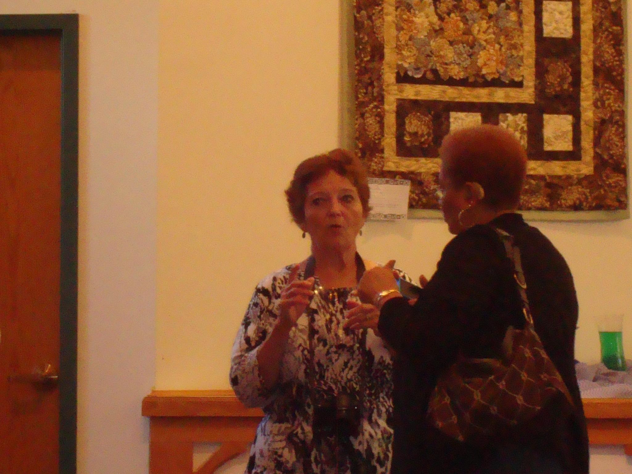 Janet Borton & Lauretta Russell